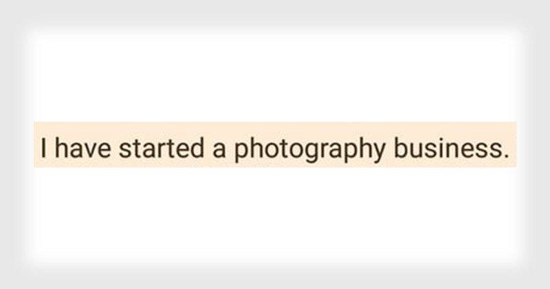 Dear Entitled Aspiring Photographer… – PetaPixel